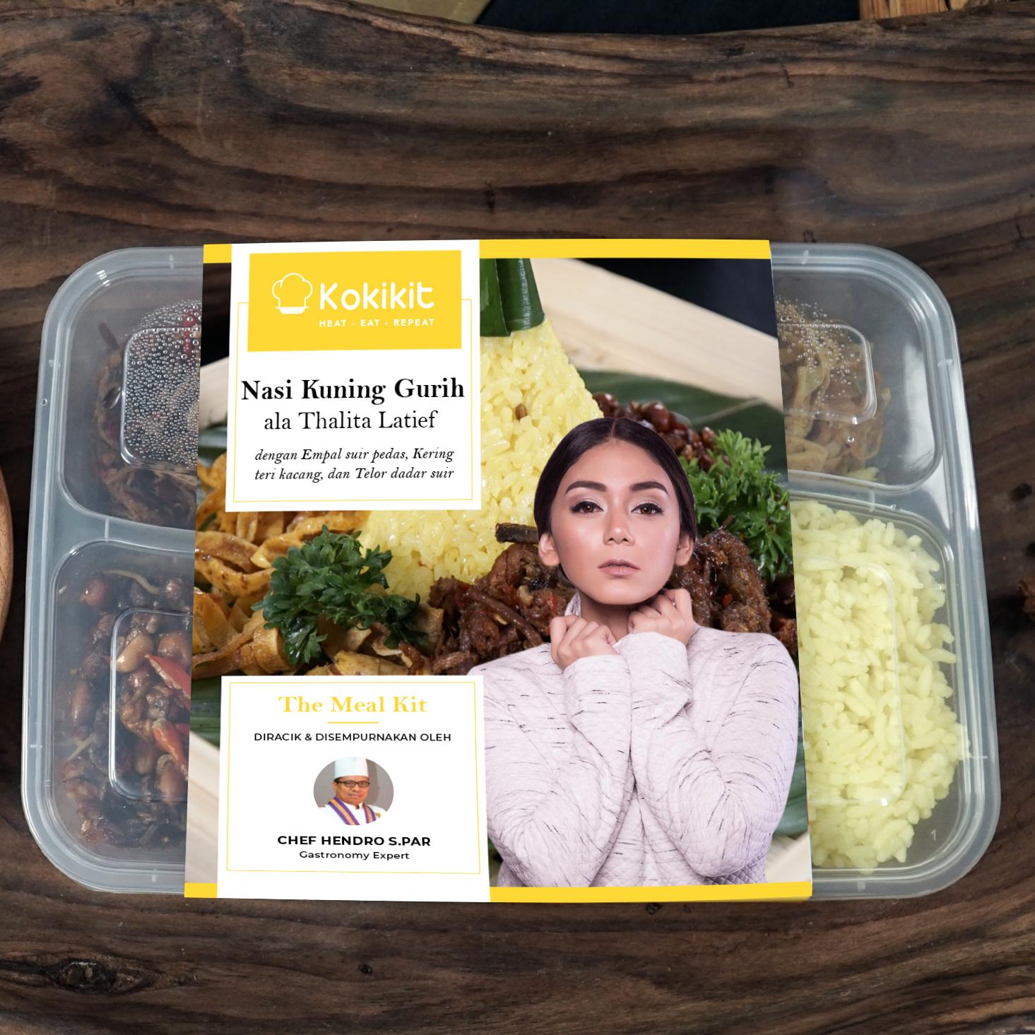 Varian Lauk Nasi Kuning yang Menggugah Selera